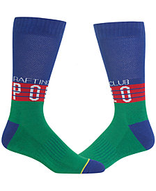 Polo Ralph Lauren Men's Polo Hi Tech Rafting Club Crew Socks
