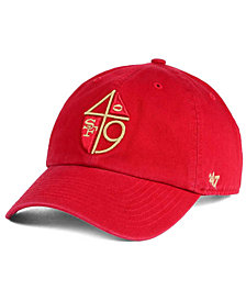 '47 Brand San Francisco 49ers CLEAN UP Strapback Cap