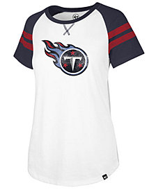 '47 Brand Women's Tennessee Titans Flyout Raglan T-Shirt