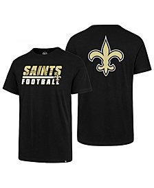 '47 Brand Men's New Orleans Saints Fade Back Super Rival T-Shirt