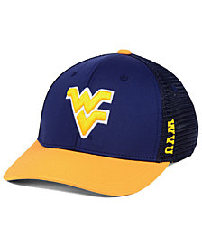 Top of the World West Virginia Mountaineers Chatter Stretch Fitted Cap