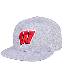Top of the World Wisconsin Badgers Solar Snapback Cap