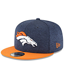 New Era Denver Broncos On Field Sideline Home 9FIFTY Snapback Cap