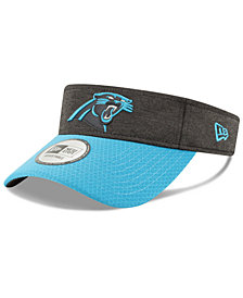 New Era Carolina Panthers On Field Sideline Visor