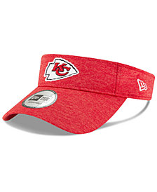 New Era Kansas City Chiefs On Field Sideline Visor