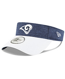 New Era Los Angeles Rams On Field Sideline Visor