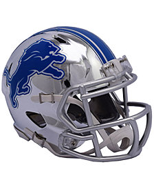 Riddell Detroit Lions Speed Chrome Alt Mini Helmet