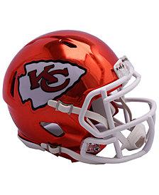 Riddell Kansas City Chiefs Speed Chrome Alt Mini Helmet