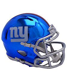 Riddell New York Giants Speed Chrome Alt Mini Helmet