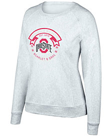 Top of the World Women's Ohio State Buckeyes Gameday Crew Neck Sweatshirt