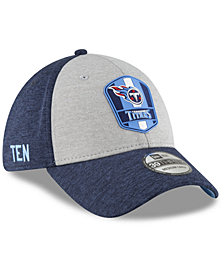 New Era Tennessee Titans On Field Sideline Road 39THIRTY Stretch Fitted Cap