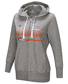 Touch by Alyssa Milano Women's Denver Broncos Touch Glitter Hoodie