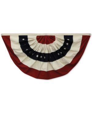 Image of Fabric Usa Flag Bunting