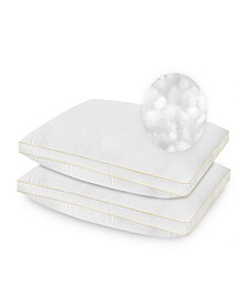 2 Pack SofLoft Medium Density Queen Pillow