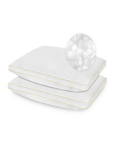 SensorPedic 2 Pack SofLoft Medium Density Queen Pillow