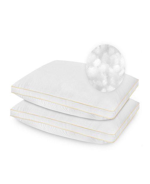 SensorPEDIC 2 Pack SofLoft Medium Density Standard Pillow