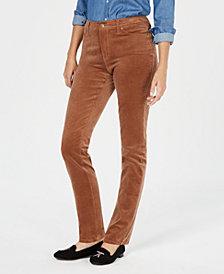 Charter Club Lexington Corduroy Straight-Leg Pants, Created for Macy's