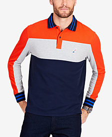 Nautica Men's Colorblocked Rugby Shirt