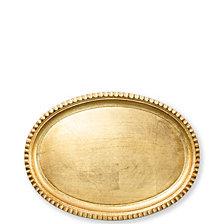 Vietri Florentine Wooden Small Oval Tray