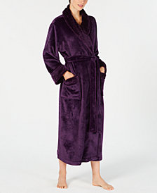 Charter Club Petite Long Dimpled Wrap Robe, Created for Macy's