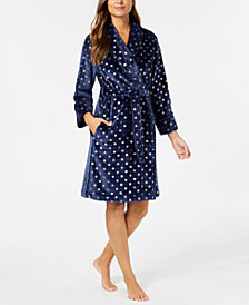 Charter Club Short Wrap Robe, Created for Macy's