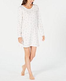 Charter Club Thermal Sleepshirt, Created for Macy's