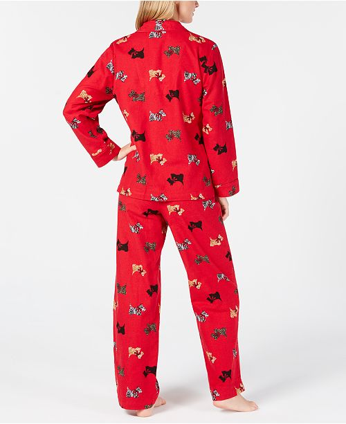 b279264852 Charter Club Petite Cotton Flannel Pajama Set