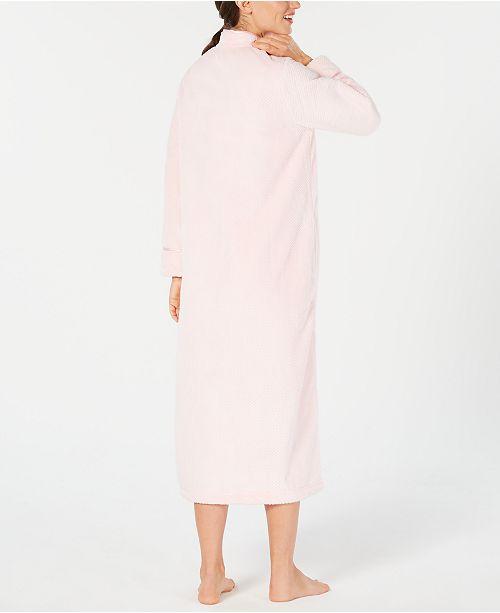 Charter Club Petite Long Zip-Front Robe e93706004
