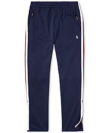 Polo Ralph Lauren Big Boys Cotton Interlock Track Pants