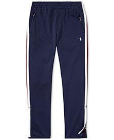 Polo Ralph Lauren Big Boys Cotton Interlock Track Pants