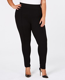 Seven7 Jeans Trendy Plus Size High-Rise Leggings
