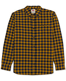 Levi's® Men's Prato Plaid Oxford Shirt