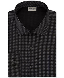 Kenneth Cole Reaction Men's Techni-Cole Slim-Fit Flex Collar Three-Way Stretch Performance Dress Shirt