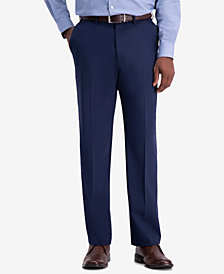 J.M. Haggar Men's Premium Classic-Fit 4-Way Stretch Dress Pants