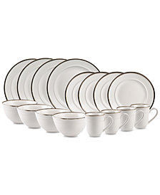 Home Essentials Molly Hatch Good Thoughts Bolzano 16-Pc. Dinnerware Set