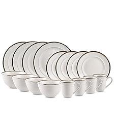 Home Essentials Bolzano 16-Pc. Dinnerware Set