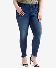 Lucky Brand Trendy Plus Size Lolita Skinny Jeans