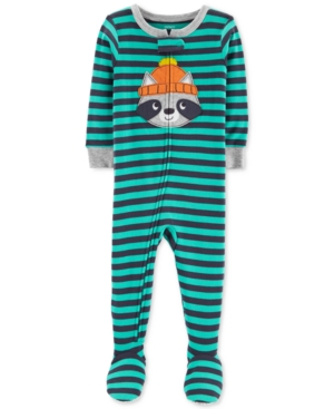 Carters Baby Boys Cotton Footed Pajamas