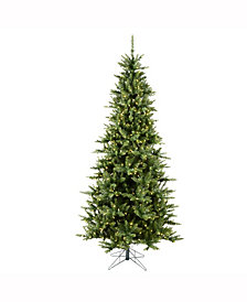 7.5' Camdon Fir Slim Artificial Christmas Tree with 700 Warm White LED Lights