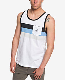 Quiksilver Men's Peaceful Progression Stripe Pocket Tank