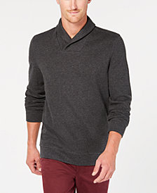 Tasso Elba Men's Shawl-Collar Pullover Sweater, Created for Macy's