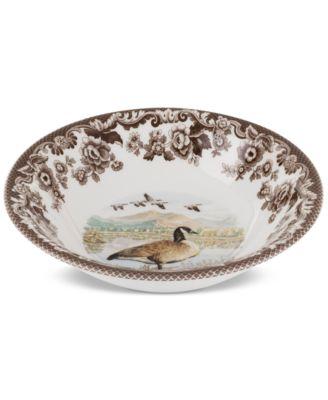 Woodland Canada Goose Ascot Cereal Bowl