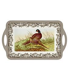 Woodland Pheasant Melamine Large Tray