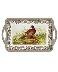 Spode Woodland Pheasant Melamine Large Tray