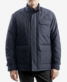 Hawke & Co. Outfitter Men's Cavell Diamond Quilted Filed Coat