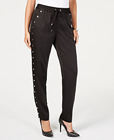 MICHAEL Michael Kors Hardware-Embellished Pants