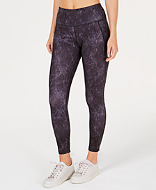 Ideology Printed Ankle Leggings, Created for Macy's