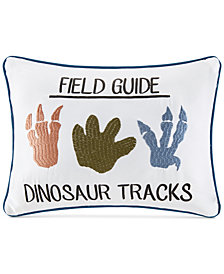 Urban Dreams Dusty The Dino Shaped Field Guide Pillow, Created for Macy's