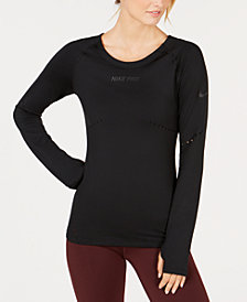 Nike Pro HyperWarm Running Top