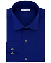 77470acdc73 Van Heusen Men s Big and Tall Classic-Fit Wrinkle Free Flex Collar Stretch  Solid Dress